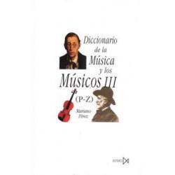 Diccionario de la Música y los Músicos III