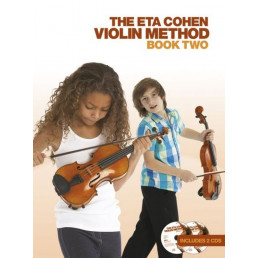 The Eta Cohen Violin Method Book 2+2 CDS