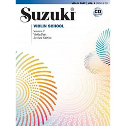Violin School Vol. 2 Book + CD