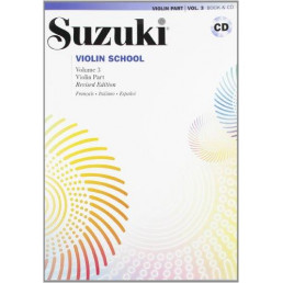 Violin School V.3 Book + CD Revised