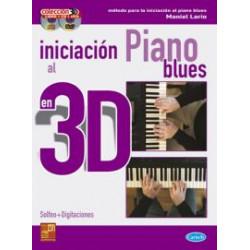 Iniciación al piano Blues en 3D (Libro+CD+DVD)