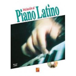 Iniciación al Piano Latino + CD