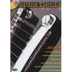 Guitarra Eléctrica paso a paso. Parte 1ª + CD