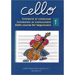 Cello 1 -Iniciació al violoncel-