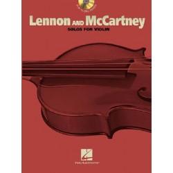 Lennon and McCartney Solos for Violín + CD