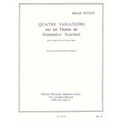 Quatre Variations sur un Thème de D.Scarlatti