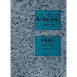 Orchester Probespiel Timpani / Persussion
