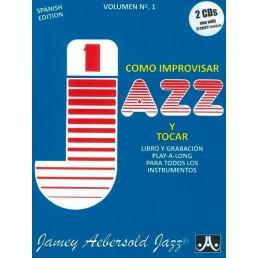 Como improvisar Jazz y tocar + CD V.1