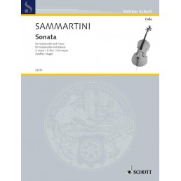 Sonata Sol Major Violoncello-piano