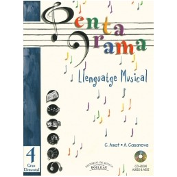 Pentagrama Llenguatge Musical 4 Elemental