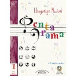 Pentagrama Llenguatge Musical 1 Mitjà