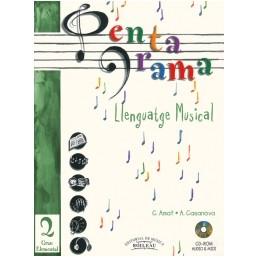 Pentagrama Llenguatge Musical 2 Elemental