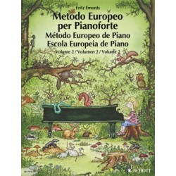Método Europeo de Piano Vol.2