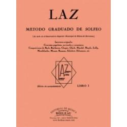 LAZ Vol.1 Mètode solfeig