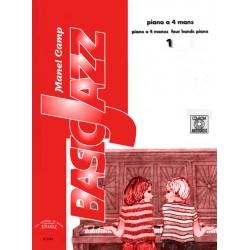 Bassicjazz Vol. 1 4 mans + CD