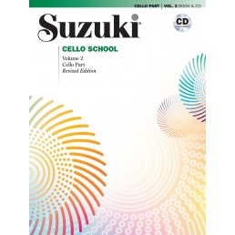 Cello School Vol. 2 + CD
