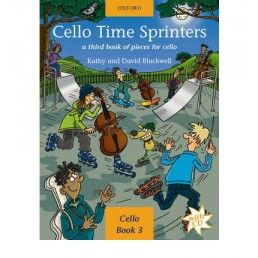 Cello time Sprinters Book 3