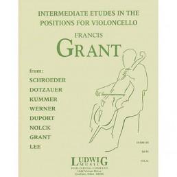 Intermediate Etudes in the Positions for cello
