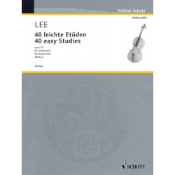 40 Easy Studies Op. 70 for violoncello