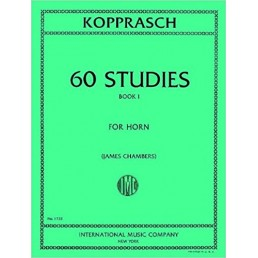 60 Studies for Horn Book 1