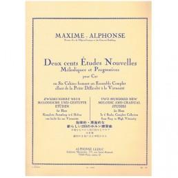 Estudios Nouvelles (200) V. 1