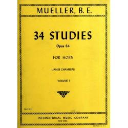 34 Studies Op. 64 Vol. 1