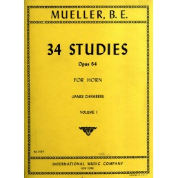 34 Studies Op. 64 Vol. 1