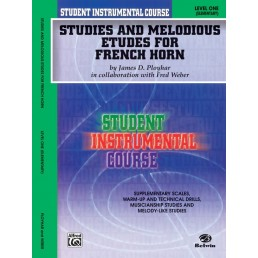 Studies and Melodious for French Horn V.1