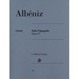 Suite Espagnole Op. 47 Urtext