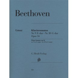 Piano Sonatas op. 14 nº 9 E Major nº 10 G Major