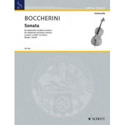 Sonata A minor for Violoncello and Basso Continuo