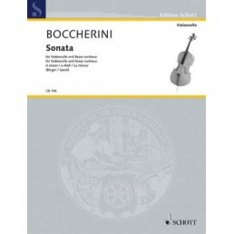 Sonata A minor for Violoncello and Basso Continuo