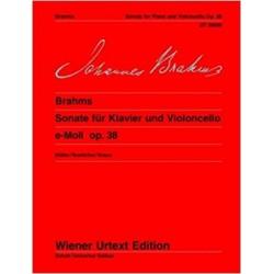Sonata Mi menor Op. 38 Urtext