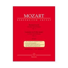 Concerto nº 3 in E-flat major Urtext KV 447