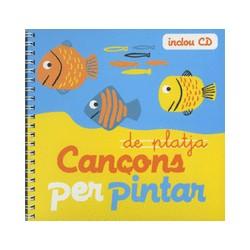 Cançons per pintar de platja + CD