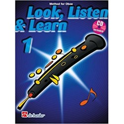 Look, listen & learn 1 Oboe + CD (Inglés)