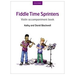 Fiddle Time Sprinters (Violin accompaniment)