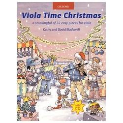 Viola time Christmas+ CD