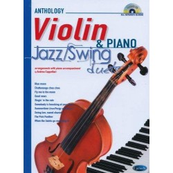 Anthology Violin & Piano + CD Jazz Swing Duets