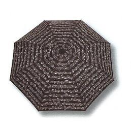 Paraigües mini plegable notes negre