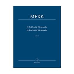 20 Etudes for Violoncello op. 11