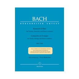 Concierto nº 2 Mi M Urtext BWV 1042