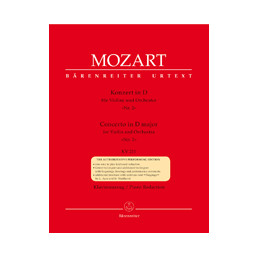 Concerto nº 2 in D major KV 211 Urtext