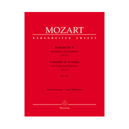 Concerto Nº 5 in A Major KV 219 Urtext