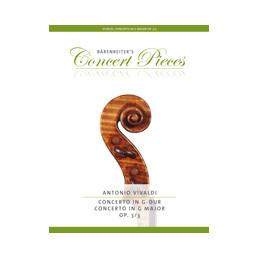 Concert G Major Op. 3 Nr. 3