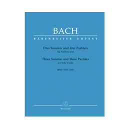Sonatas y partitas Urtext BWV 1001-1006