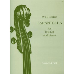 Tarantella for cello and piano