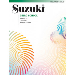 Cello School Volume 8