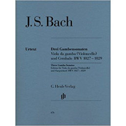 Three Gamba Sonatas BWV 1027-1029