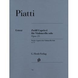 Twelve Capricci for Violoncello Solo Op. 25